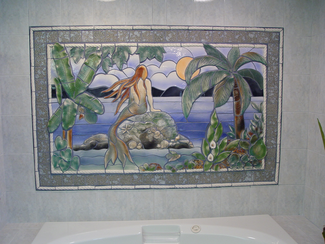 Ceramic murals handmade tiles for Ceramic mural tiles